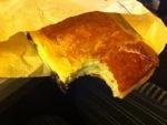 Pastry. Custard. Warm.